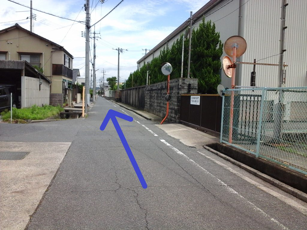 「tochito茶屋町展示場」道順3