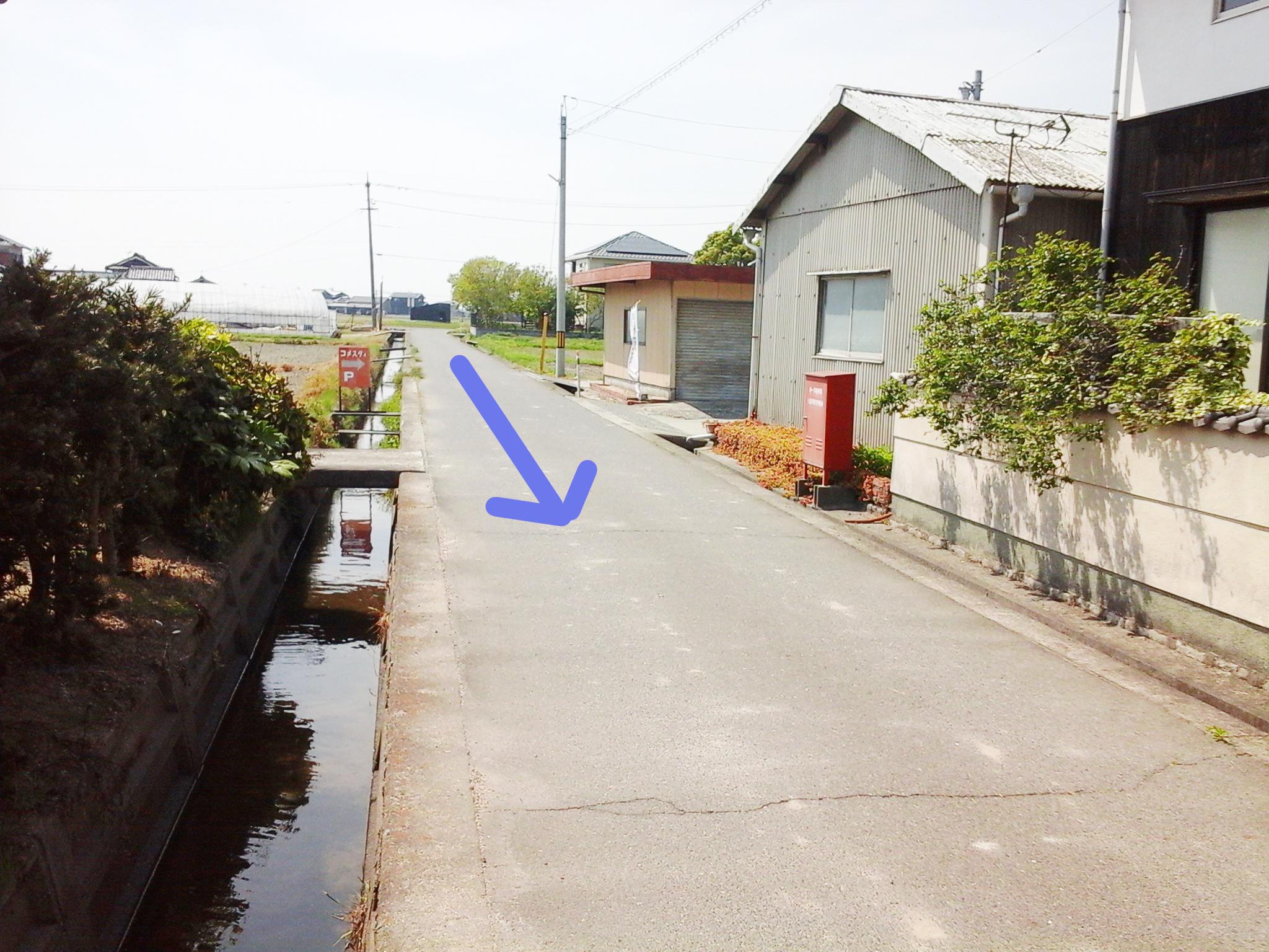 漱石ロード 道順1