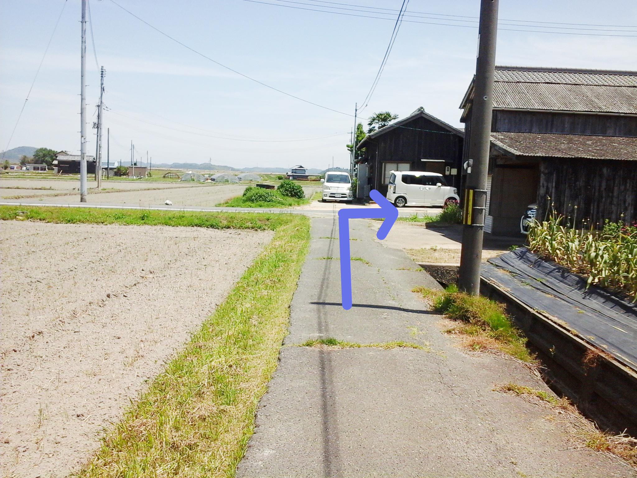 漱石ロード広場 道順4
