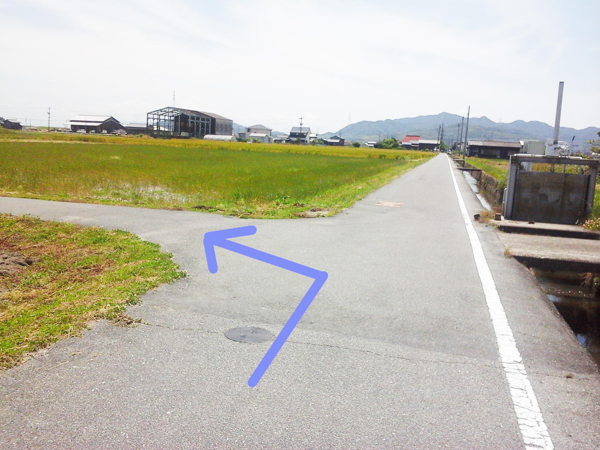 漱石ロード広場 道順6