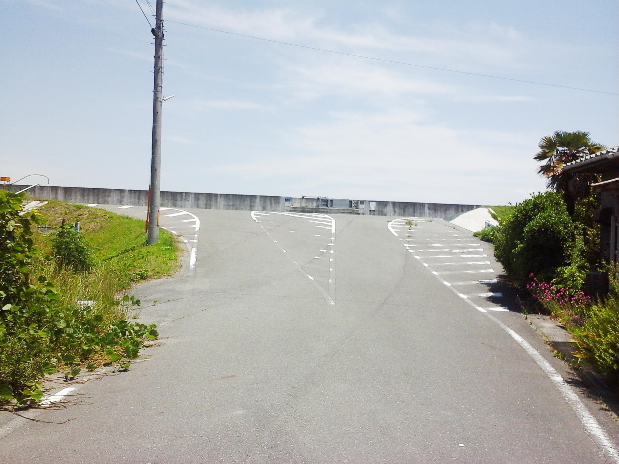 漱石ロード広場 道順8