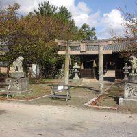 素盞嗚神社の鳥居