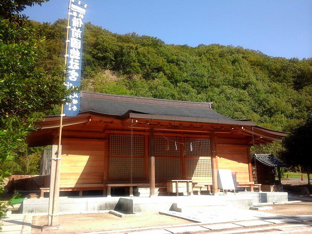 備前国総社宮の拝殿