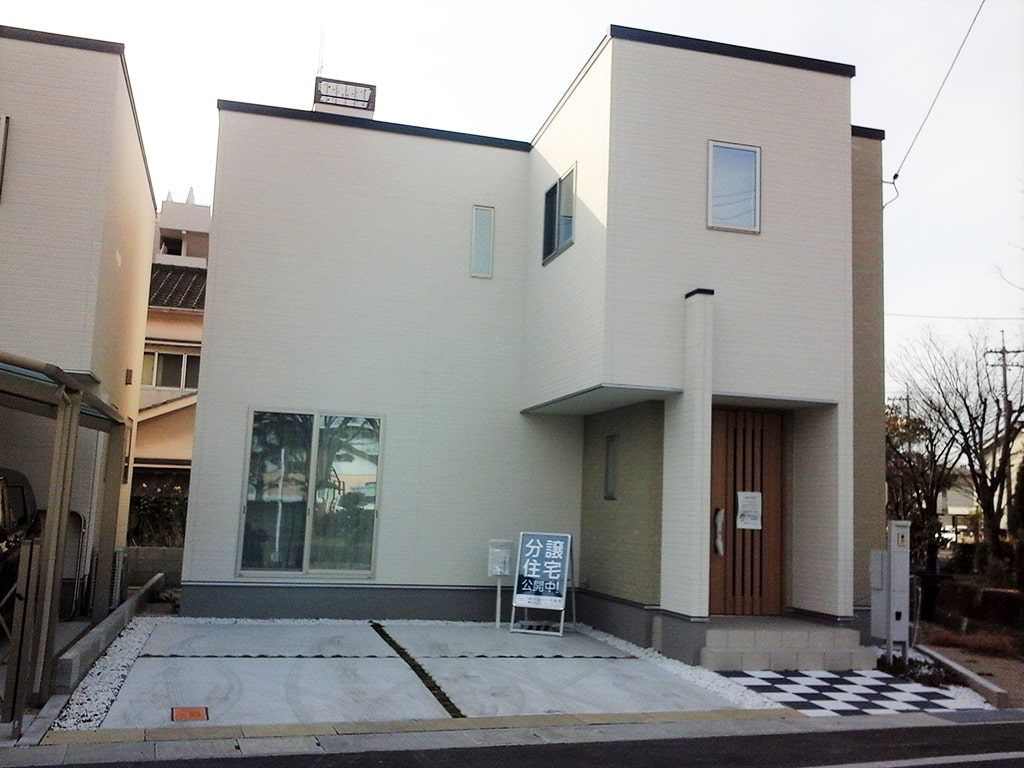 tochito東山1号地展示場の外観