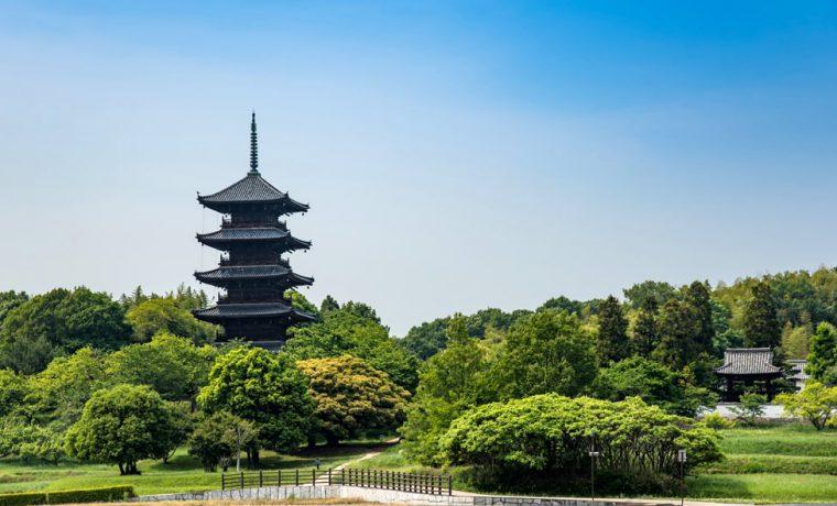 初夏の備中国分寺