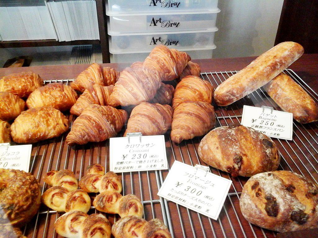 種類豊富なパンたち