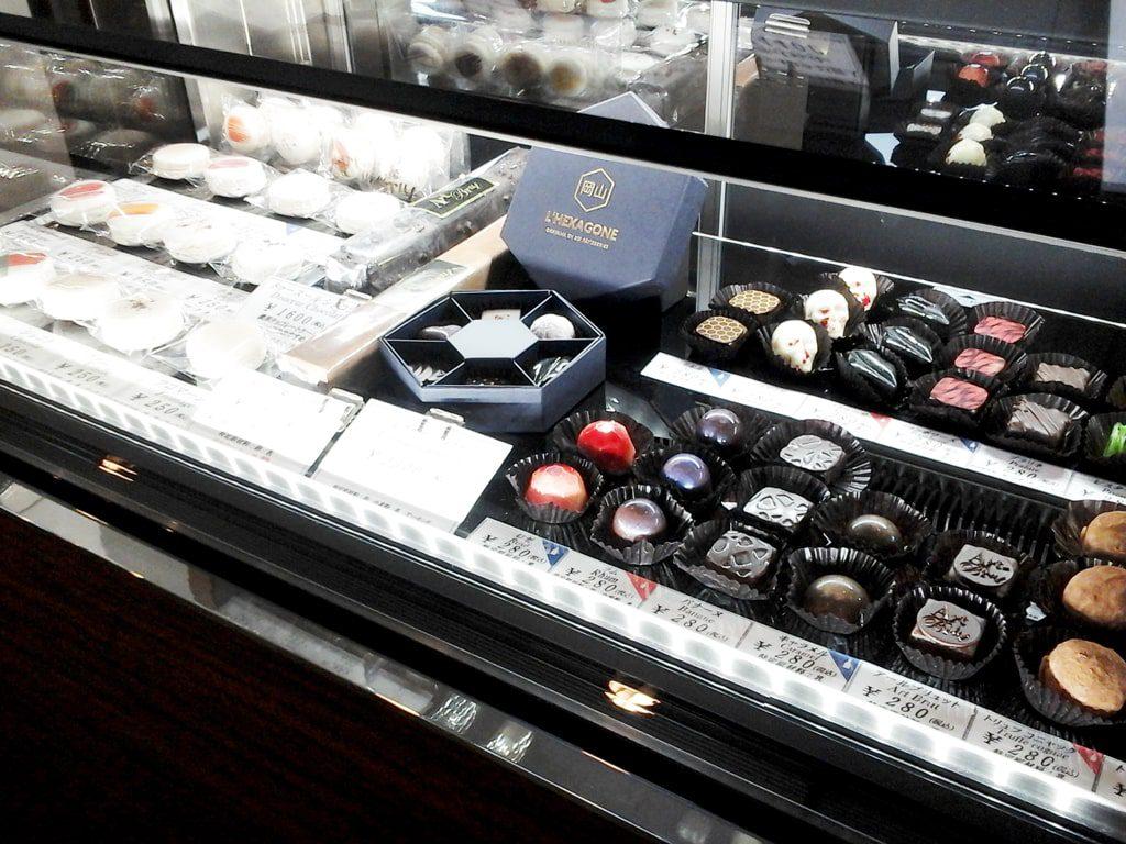 種類豊富なチョコレート